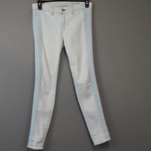 Rag & bone light blue side inserts skinny jeans